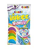 CRAZE INKEE Bubbliz Regenbogenförmige Badebombe mit Traubenaroma in 5 Farbbad 26830, Badespaß für Kinder