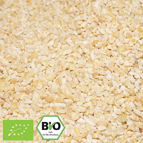 1000g Bio Soja-Granulat | Sojaschrot | 1 kg | Vegan | Hack - Fleischalternative | aus Österreich | kompostierbare Verpackung | STAYUNG