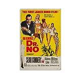 Sean Connery James Bond 007 Dr. No-Filmposter, dekoratives