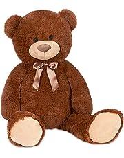 BRUBAKER XXL Teddybeer 100 cm - Zacht Speelgoed Knuffel
