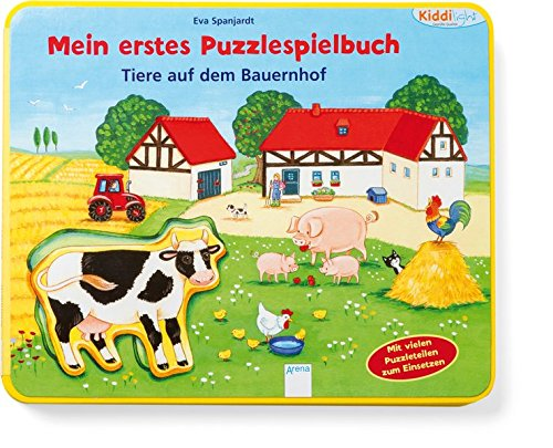 Mein erstes Puzzlespielbuch. Tiere auf dem Bauernhof: Kiddilight: