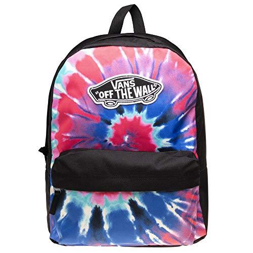 Mochila Vans Realm Backpack Tie Dye Negro Sin Talla