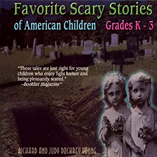 Favorite Scary Stories of American Children audiobook cover art