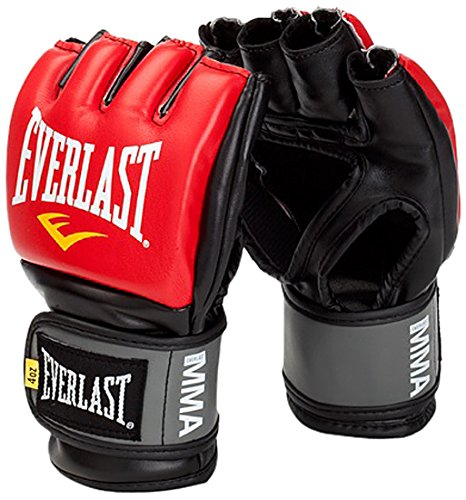 Everlast Erwachsene Boxartikel 7778 Pro Stye Grappling Gloves, Red, L
