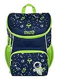 Scooli Mini-Me Kindergartenrucksack - ergonomischer Rucksack für Kinder, mit abnehmbahren Brustgurt, 8l, für Mädchen und Jungen (blau)