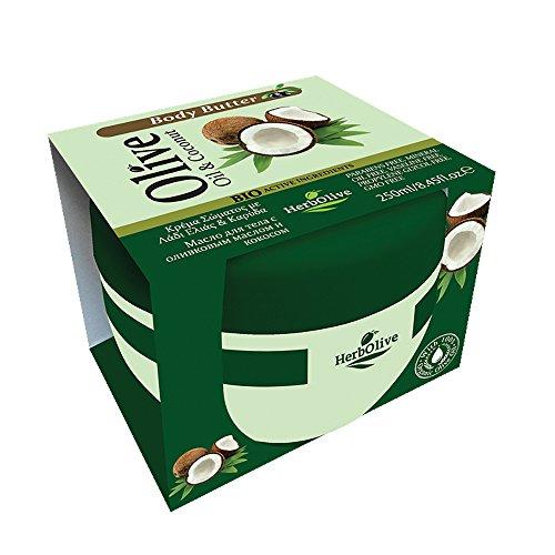 Herbolive Körperbutter Kokosnuss, 1er Pack (1 x 250 ml)