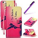 iPhone 4S Coque Antichoc,Cute Coque Pour iPhone 4S,iPhone 4 Coque en Cuir Folio Flip Etui,iPhone 4S Coque Fille,EMAXELERS iPhone...
