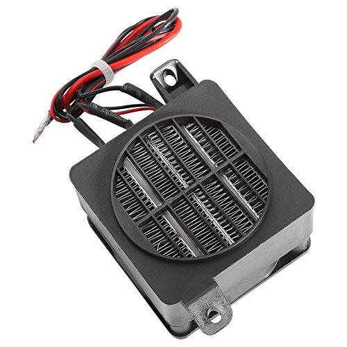 Réchauffeur Électrique PTC à Température Constante Radiateur Soufflant pour Incubateur de Chauffage pour Petits Espaces de Voiture (12V 150W)