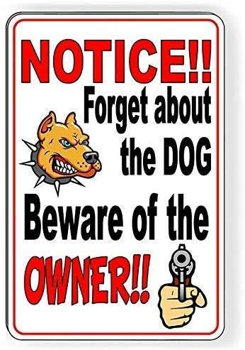 Jessgirl Förgätet hunden se upp för ägaren väggkonst affisch metall plåtskylt väggdekor man grotta bar hem levande dekor 30 cm x 20 cm