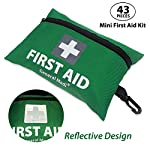 2 in 1 Large First Aid Kit for Home, Car, Camping, Office, Boat, and Traveling 97
