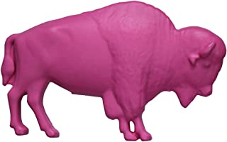 The Original Pink Buffalo - Garden Plastic Outdoor Lawn Ornament Decoration, Supporting Breast Cancer Awareness