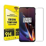 actecom® Protector Pantalla Compatible con One Plus 6T Cristal Templado One + ONEPLUS