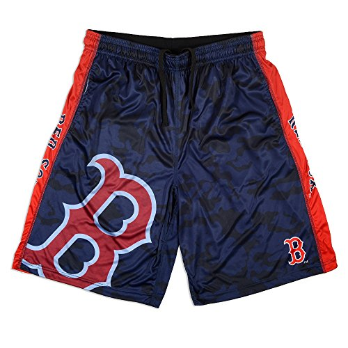 Boston Red Sox Big Logo Polyester Short Extra Large 36