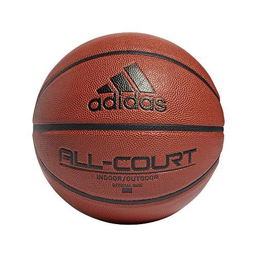 adidas All Court 2.0 Pelota, Adultos Unisex, Negro/AZUREA/AMARIL/NARAUT (Multicolor), 6