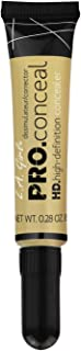 L.A. Girl Pro Conceal HD Concealer, Yellow Corrector, 0.28 Ounce