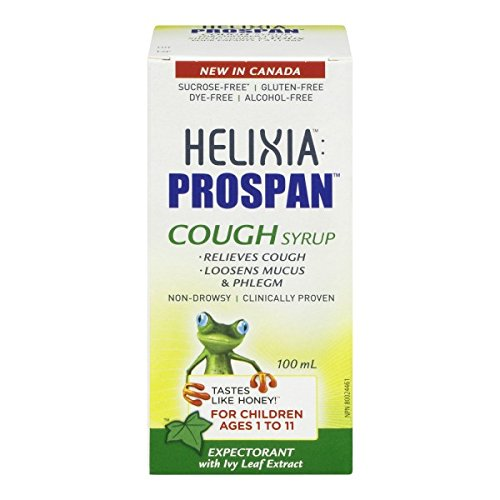 Helixia Prospan Children's Cough Syrup ages 1 to 11