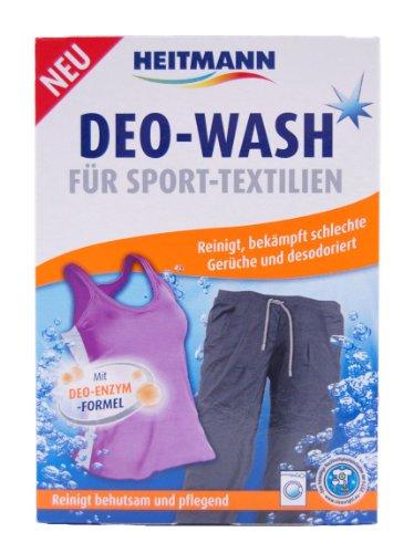 Heitmann Deo-Wash für Sport-Textilien5x50g