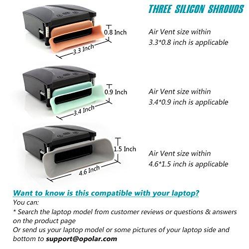 OPOLAR PC Kühlkörper Laptop Kühler mit Temperaturanzeige, Schnelle Automatische Temperaturerkennung, 13 Windgeschwindigkeiten, perfekt für Gaming-Laptops, Nintendo Switch