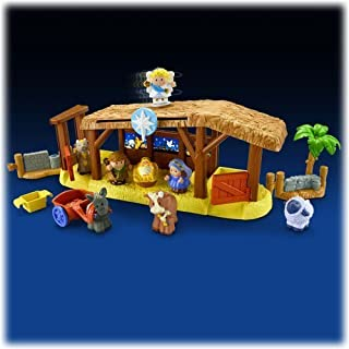 Fisher Price Little People® Nativity Playset 11 Pieces NEW Great for Christmas
