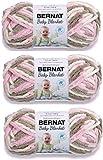 Bernat 161103-3421 Baby Blanket Yarn - Little Petunias
