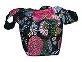 Indio de algodón Kantha bolsa de hombro Kantha impresión bolsa indio Lovely bolsa funda algodón Shopper–Bolso Tote hombro Día Bolsa de mano mujer