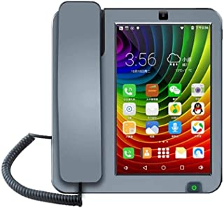 2020 new Smart LTE 4G KT8001 fixed wireless landline Android 6.0 with 4G SIM network video phone