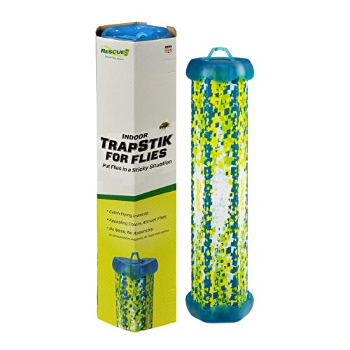 RESCUE NonToxic TrapStik for Flies – Indoor Hanging Fly Trap