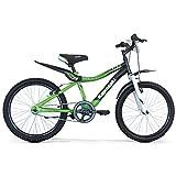 Kawasaki, Bicicletta KBX 14' Bambino, Verde, 14''