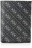 Guess Dan Logo Small Billfold W/CP, Accesorio de Viaje- Billetera para Hombre, Negro, Talla única