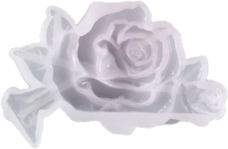 Super-cheap Cicitop Silicone Molds for Jewelry Epoxy Flower Rose New Orleans Mall Crystal Set