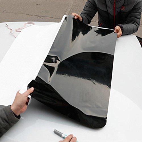 Sedeta Techo Solar Coche de la película Protector Ventana sombrilla película del Vinilo de la Etiqueta engomada 79 * 38 cm vehículos de PVC Cubiertas