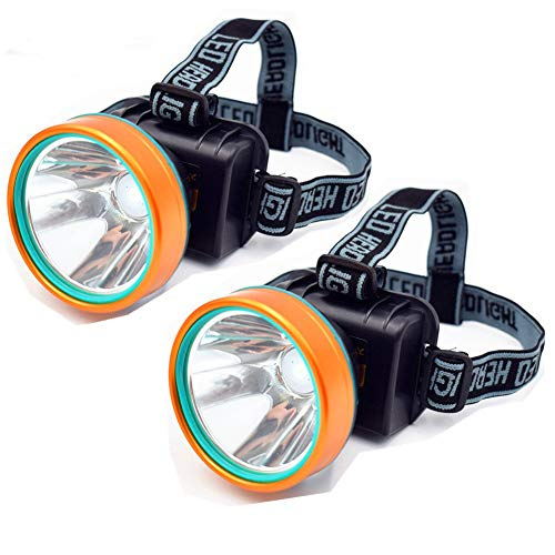Obvie 50W Led Rechargeable Headlamp Brighter,Farther,Waterproof(2pcs Pack)