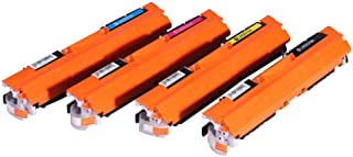 Compatible Laser Toner Cartridges Replacement For Hp Ce310a/311/312/313a (126a,) use For Hp Colorlaserjet Cp1020/1025/1025nw
