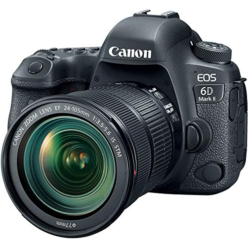 Canon EOS 6D MK II - Cámara digital réflex de 26.2 MP (pantalla táctil de 3.0