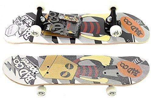 Skateboard mit Fingerboard Bad Co.