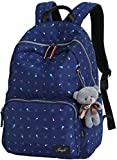 Todo-fósforo de la mochila Mochila for portátil universitarios hombros Bolsas ChildrenBook bolsas de viaje mochila de lona de las muchachas (negro), Nombre de color: Verde claro mochila ocasional estu