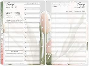 FranklinCovey Classic Blooms Daily Ring-Bound Planner - Jan 2021 - Dec 2021