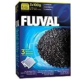 Fluval Carbón para Filtro Externo, 300 grs, 3 x 100