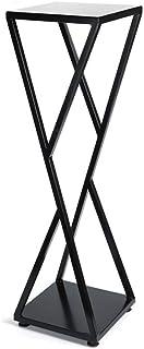 XAJGW Soporte vertical para plantas de metal Plantas de exhibición en interiores o al aire libre en un balcón Patio Jardín o Uso como separador de habitaciones o Jardín vertical dentro de su hogar o I