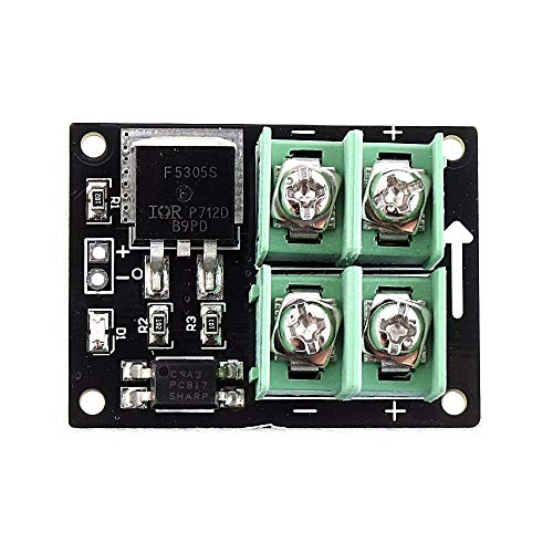 WEI-LUONG 3V 5V MOSFET Low Voltage Switch Module Electronic Low Control High Voltage 12V 24V 36V FET Module Module Computer
