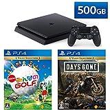 PlayStation 4 + New みんなのGOLF + Days Gone セット (ジェット・ブラック) (CUH-22……