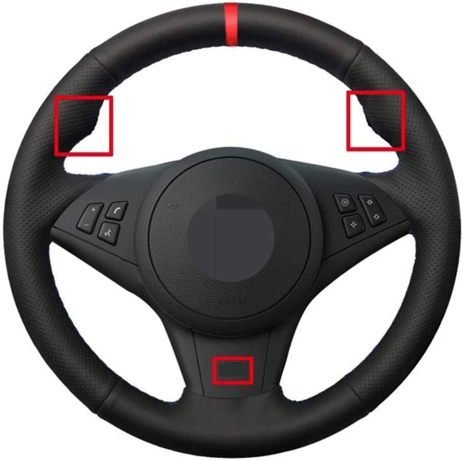 NFRADFM Free Ranking TOP19 shipping anywhere in the nation DIY Hand-Stitched Car Steering Cover Wheel Accessories N