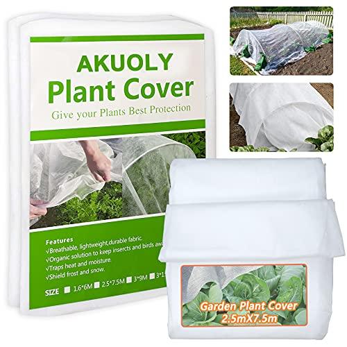 Cubierta de protección para plantas de jardín 250cm x 750c