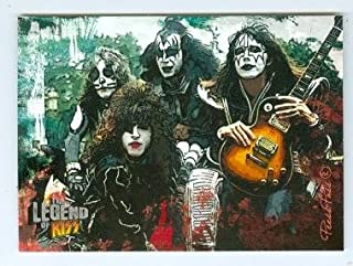 Kiss trading card Kiss The Legend 2010 #16 Gene Simmons Ace Frehley Paul Stanley Peter Criss