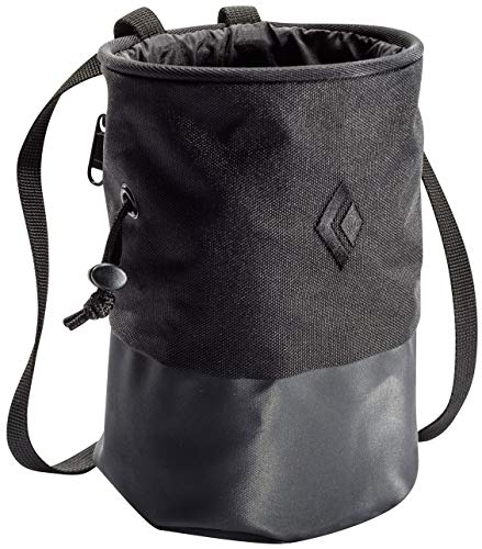 Black Diamond Mojo Zip Bolsa magnésio black/slate