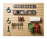 HandiWall Work Bench Accessory Kit for Garage Slatwall Panel Organization
