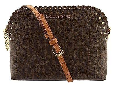 Michael Kors Violet Cindy Dome Crossbody Bag Purse Handbag