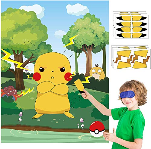 Pikachu Poster Kinder Party