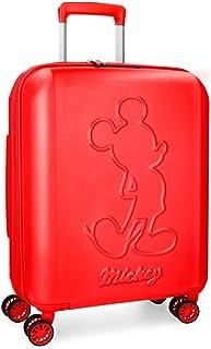 Disney Mickey Premium Maleta de cabina Rojo 40x55x20 cms Rígida ABS Cierre TSA 38L 3,1Kgs 4 ruedas dobles Extensible Equip...