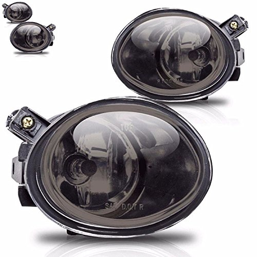 Smoke Lens Fog Light Bumper Lamps For 2001-2005 BMW E46 E39 M5 M3 330i 330 Ci